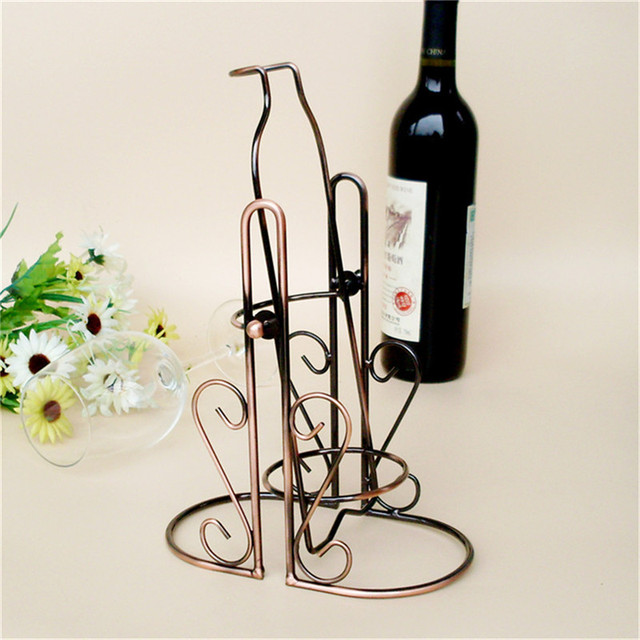wine rack in living room modern mirrors for fashion swaing pouring cabinet wedding decor gift bottle holder shelf