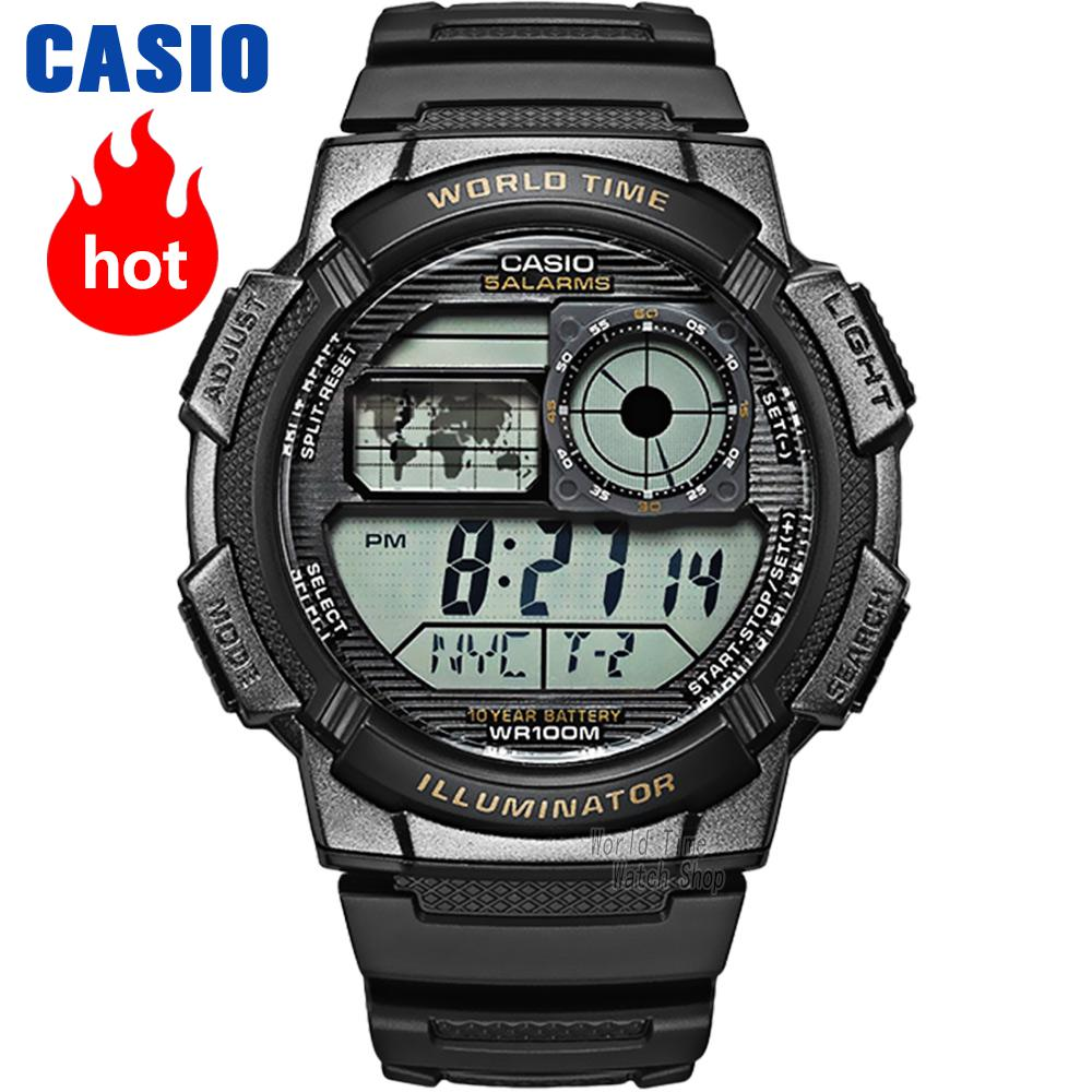 Casio watch Men's multi-functional fashion waterproof watch AE-1000W-1A AE-1000W-1B AE-1000WD-1A AE-1100W-1A AE-1100W-1B часы casio collection ae 1000w 1a black