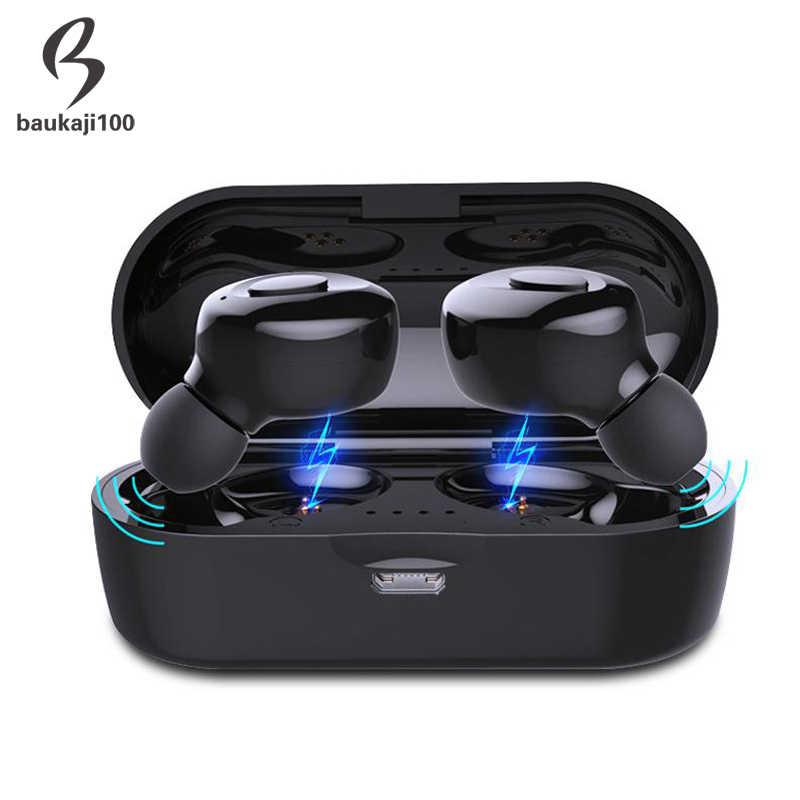 Fabryka TWS Bluetooth 5.0 słuchawki Stereo bezprzewodowy Earbus HIFI dźwięk słuchawki sportowe zestaw głośnomówiący gamingowy zestaw słuchawkowy z mikrofon do telefonu