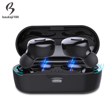 Factory TWS Bluetooth 5.0 Earphone Stereo Wireless Earbus HIFI Sound Sport Earphones Handsfree Gaming Headset with Mic for Phone