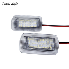цены 2x 24SMD For Toyota Land Cruiser 200 Series 150 Series Prado MK4 J150 2007 For Lexus ES240 IS250 LED Courtesy Door Light Bulb