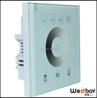 Free Shipping China Wall Switches Touching Panel Dimmer Switches For Lighting DIY Lighting Switch To Russia