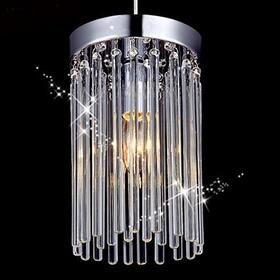 Modern restaurant pendant lights crystal table lamp lights three single- aisle corridor light pendant lights