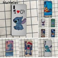 MaiYaCa cute cartoon Lilo and Stitch Colorful Cute Phone Accessories Case For Huawei honor 9 10 7s 8 p20 Cell phone case(China)