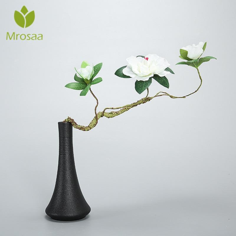 Haus & Garten Mrosaa Europäischen Moderne Matte Keramik Vase Blume Buchse Zubehör Desktop Vase Dekoration Dekoration Krankheiten Zu Verhindern Und Zu Heilen Wohnkultur
