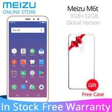 Küresel Sürüm Meizu M6T 6 T 3 GB RAM 32 GB ROM Akıllı Telefonları MTK6750 Octa Çekirdek 5.7