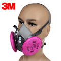 3M KN95 Dust Mask Headset 6200 With 2091 Anti-particulate Filter Cotton Dust Mask Anti-fog And Haze PM2.5 Protective Masks