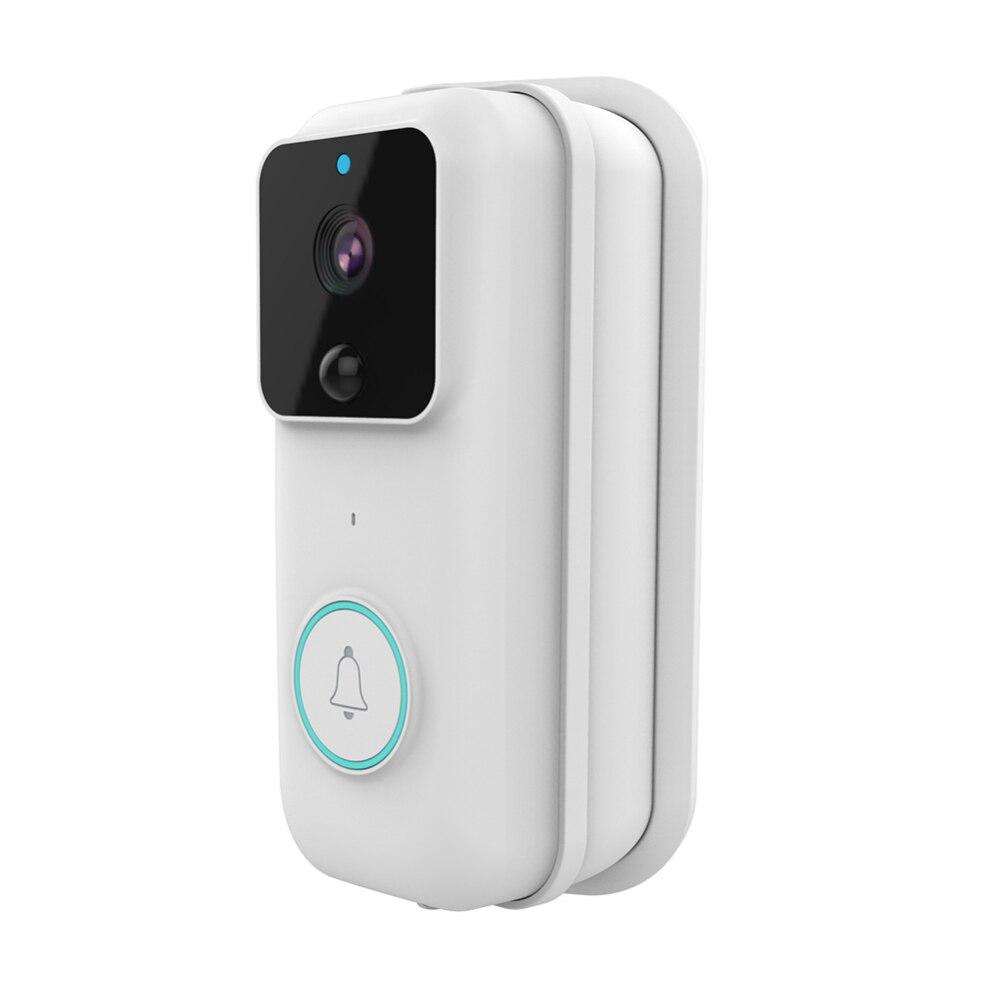 Wireless Wi-Fi Intelligent Doorbell Video Doorphone Visual Doorbell Security Camera Wholesale