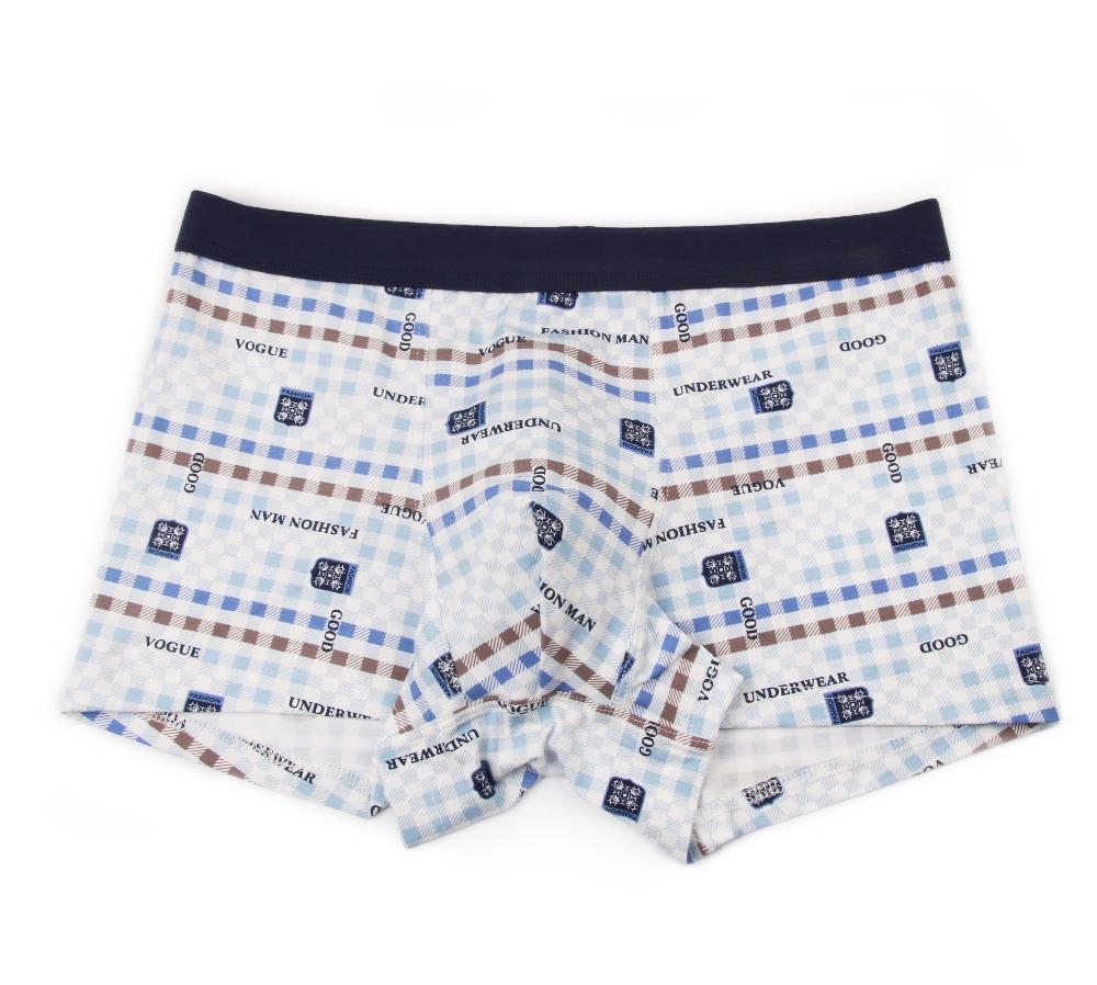 Bamboo Fiber Underwear Men Soft Boxer Shorts Panties Comfortable Breathable Underpants 29
