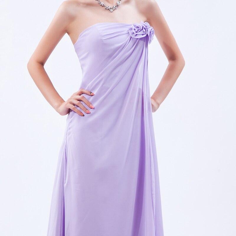 Bonito Vestido De Dama De Lavanda Foto - Vestido de Novia Para Las ...
