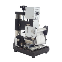 1 pcs Hot Stamping Machine For PVC Card Member Club Hot Foil Stamping Bronzing Machine WTJ-90A