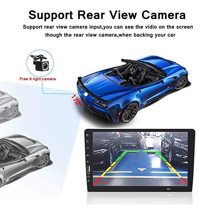 9 Touch Mirrorlink Android carplay Radio MP5 Player Bluetooth USB Rear View Camera car radio 1Din Autoradio No Android - 5