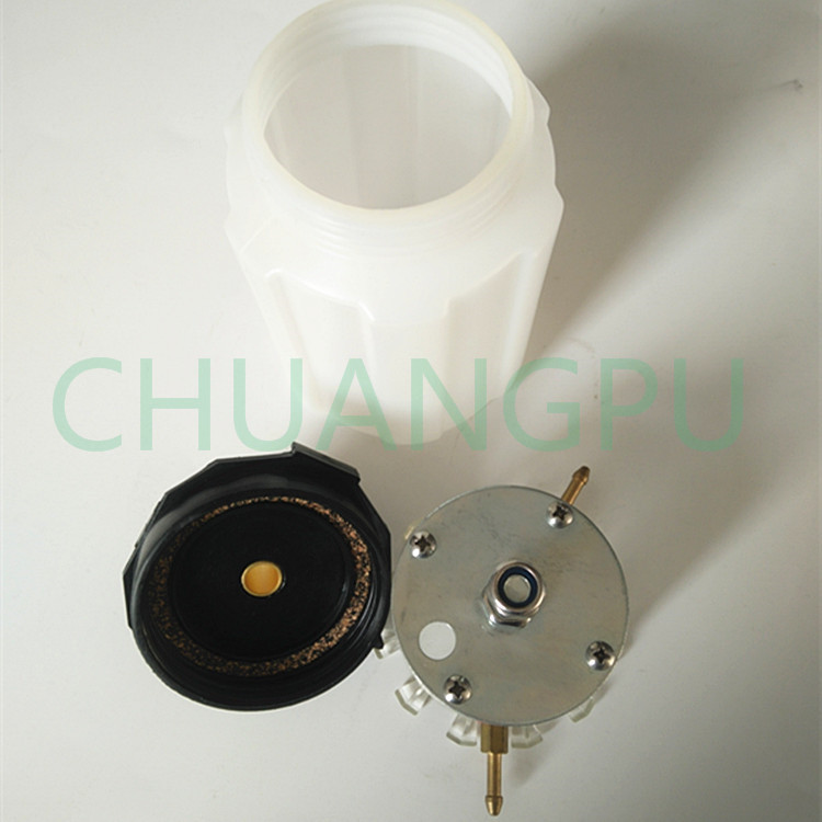 US $20 24 |Cow Milking Machine Vaccum Pump Oil Pot, Plastic White Oiler Pot  for Vacuum Pump-in Feeding & Watering Supplies from Home & Garden on