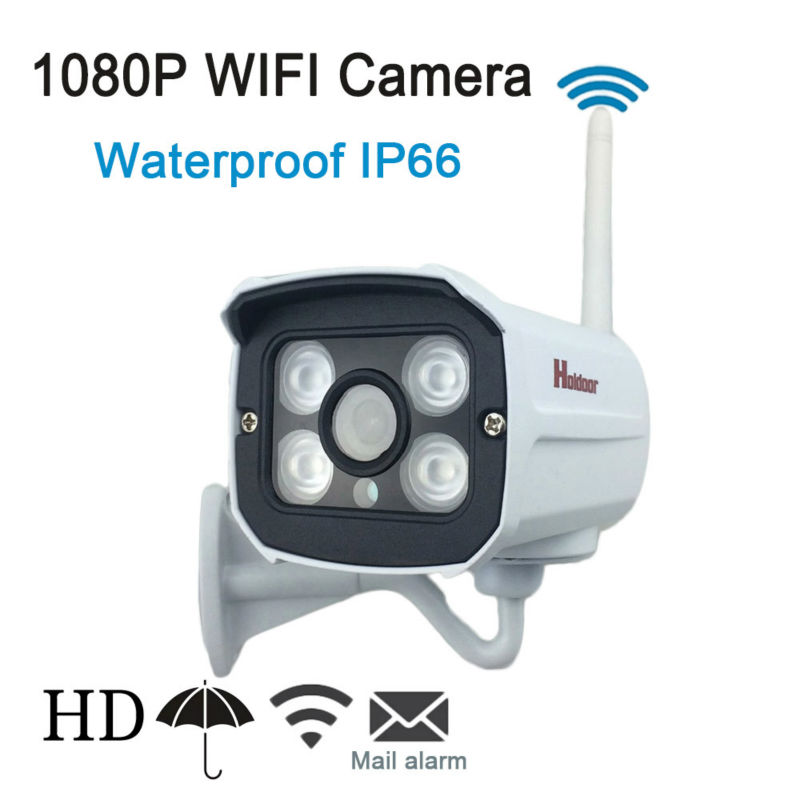 ФОТО IPC Wireless IP Camera wifi HD 1080P Webcam Security Camera support Memory Micro SD Card Metal Shell Outdoor IP66 Waterproof P2P