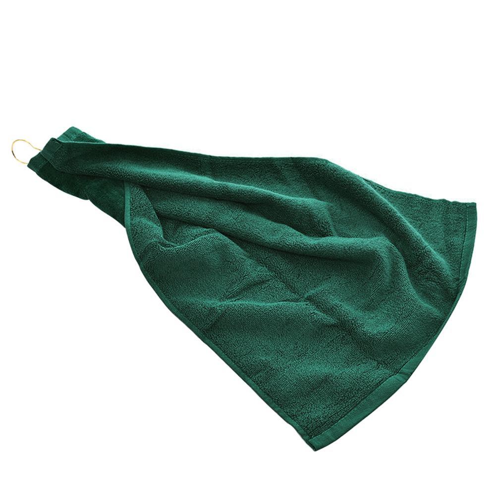 Sports Towel Absorption: 40x60cm Sports Water Absorption Tri Fold Cotton Golf Ball