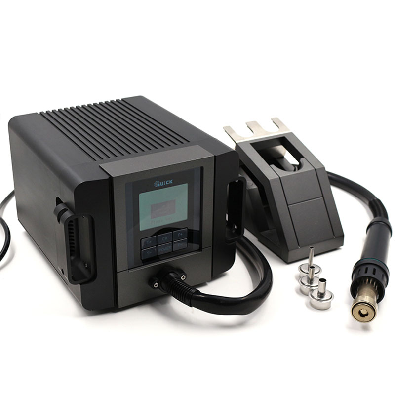 QUICK TR1300A TR1100 Intelligent Hot Air Rework Station For Phone PCB Soldering Repair