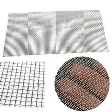 5/8/20/30/40, malla de alambre tejido de alta calidad, lámina de filtro de cribado de acero inoxidable, 15x30cm