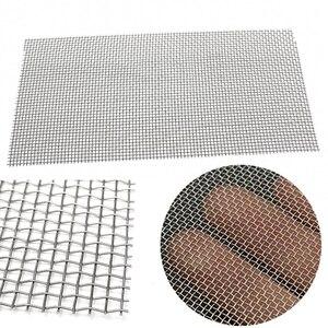 Image 1 - 5/8/20/30/40 сетчатый Плетеный проволочный высококачественный фильтр из нержавеющей стали 15x30 см