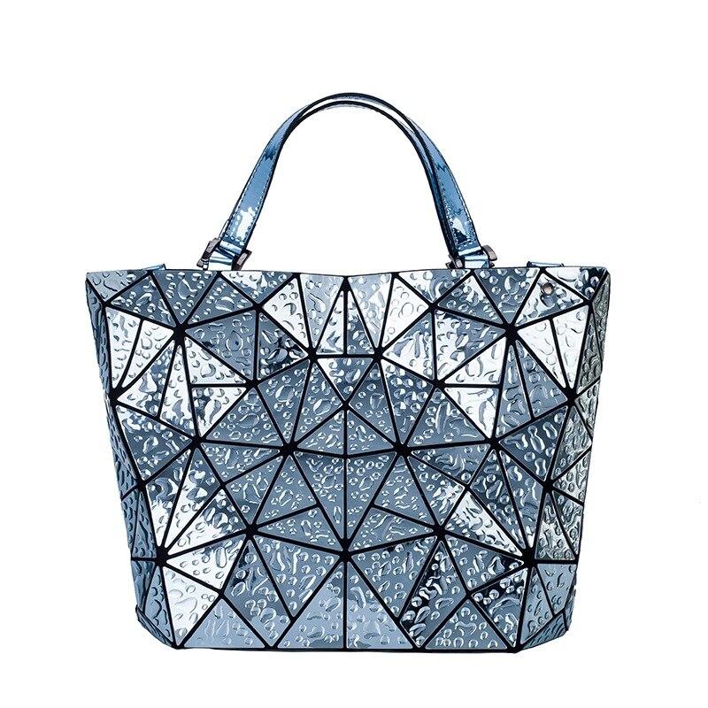 2018 Bao Bao bag Women Raindrop sac baobao Bag Diamond Tote Geometry Quilted Shoulder Bags Laser Plain Folding Handbags bolso