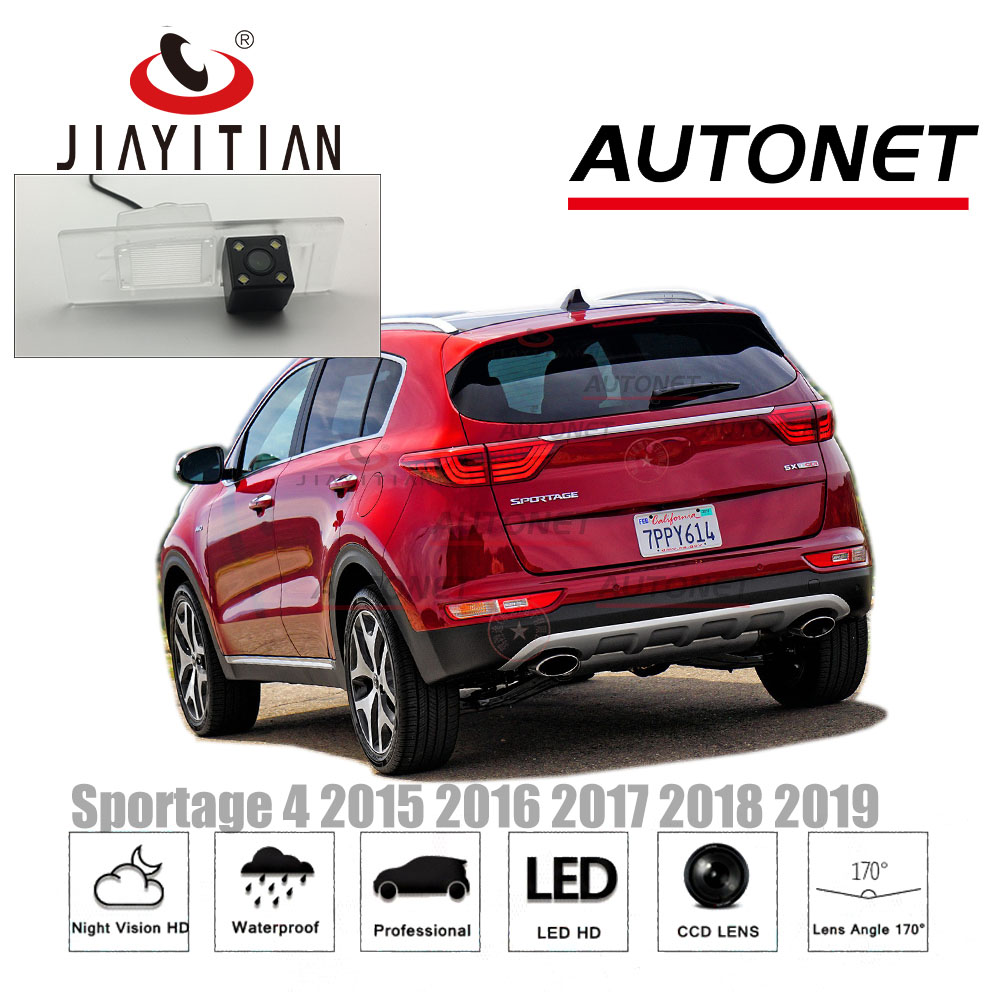 JiaYiTian Rear view Camera for kia Sportage 4 QL 2015 2016 2017 2018 2019 Reverse Camera CCD Night Vision license plate camera