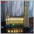 MTELE Brand LED Light Up Kit For City Creator Big Ben Building Block Lighting Set Compatible With Model 10253