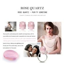Natural Gemstone Rose Quartz Pink Clear LMRQZ