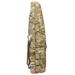 Image 5 - Охотничьи сумки 70 см/100 см/120 см, тактический Водонепроницаемый чехол для хранения винтовки, рюкзак, сумка для военного оружия, сумка для страйкбола, аксессуары для охоты