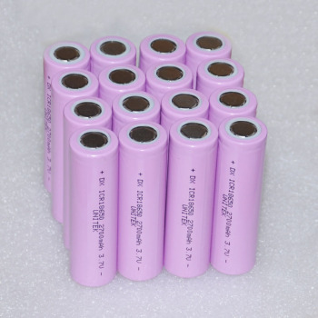 16pcs UNITEK 3.7v ICR 18650 rechargeable battery 2700mah li-ion lithium cell replace for samsung 18650 26f flashlight torch use