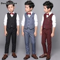 2019 new boys blackblazer pcs set wedding suits for boy formal dress suit boys wedding suit kid tuxedos page boy outfits