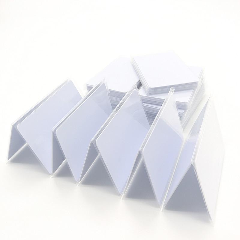 50pcs 13.56MHz RFID NFC Card ISO14443A MFS50 PVC Smart Card Access Control Cards RFID Tag Cards