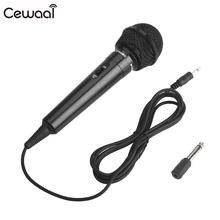 Black Wired Microphone Party KTV Recording Universal Protable Public Speaking Stage Performance Public Transmitter Megaphone public law