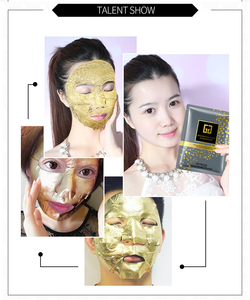 Image 5 - 24K Gold Collagen Facial Sheet Mask Oil Control Blackhead Remover Face Mask Moisturizing Brighten Skin Care Korean Cosmetics