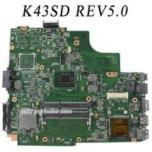 Для ASUS A43e P43E K43E материнской K43SD REV5.0 платы с i3 Processor 100% протестировал OK