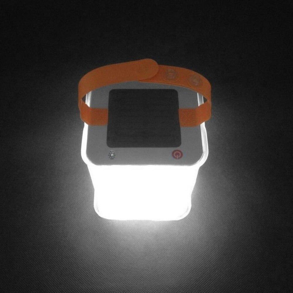New LED Lantern Solar Collapsible Camp Flashlight Torch Light Waterproof Lantern Handheld Inflatable Balloon Illuminating Lamp