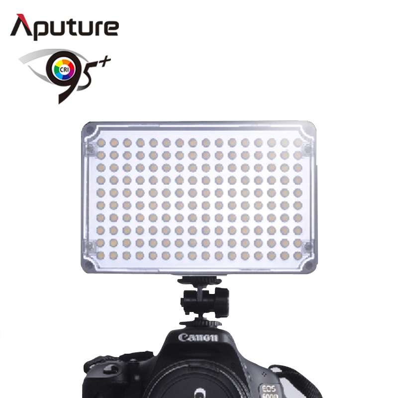 Aputure LED Video Panel Light photo on-camera led light bulb with CRI 95+ 160 bulbs video production equipment AL-H160 цена
