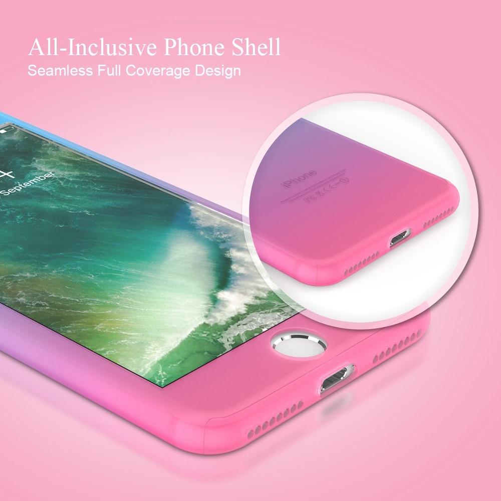FLOVEME För iPhone 6 Fodral iPhone 6S 6 Plus Cover 360 graders - Reservdelar och tillbehör för mobiltelefoner - Foto 3