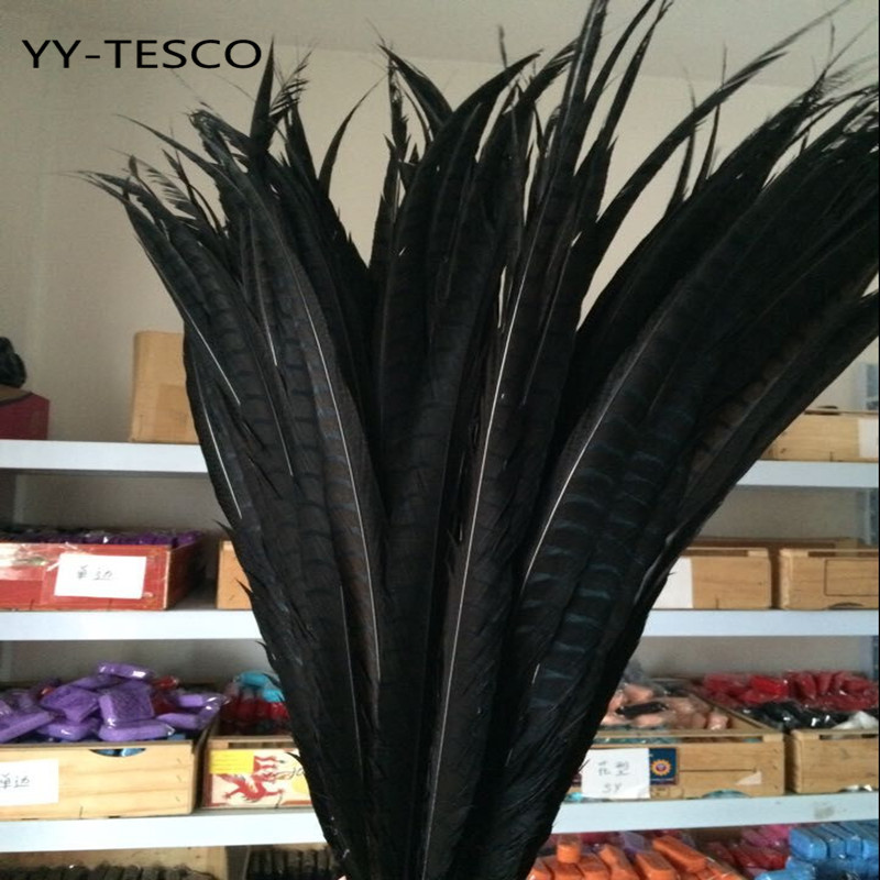 Image 2 - 50pcs 28 32 inche/70 80cm natural Lady Amherst Pheasant Feather pheasant feathers for carnival party costumes cosplay decorationFeather   -