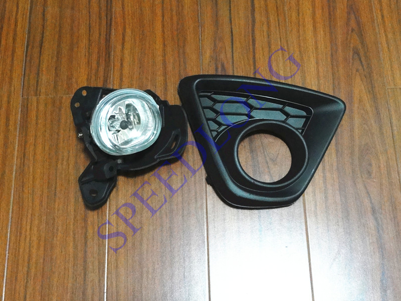 1 Set Right Side Front driving fog light and Fog Lamp cover assembly for Mazda CX-5 2013-2015 1 set left side driving lamp front fog light and fog lamp cover bezel assembly for mazda cx 5 2013 2015