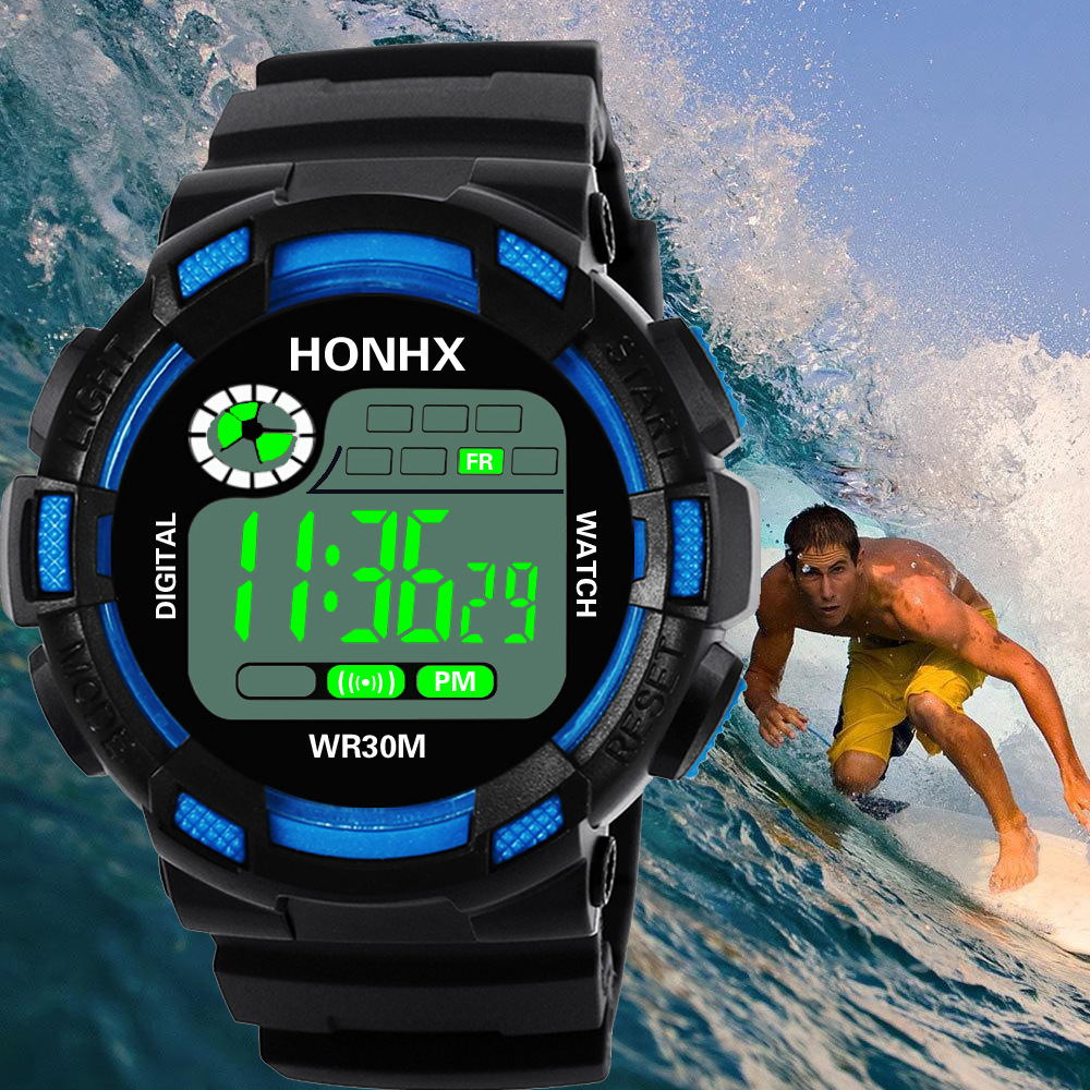 Life Water Resist Men Women Digital Sport Watches Multi-Function LED Electronic Clock Man Ladies Fitness Wrist Watch Reloj Saati
