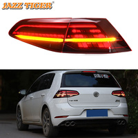 Car Styling for VW Golf 7 Tail Lights 2013 2017 Golf7 Mk7 LED Tail Lamp LED DRL Dynami Signal Brake Reverse auto Accessories