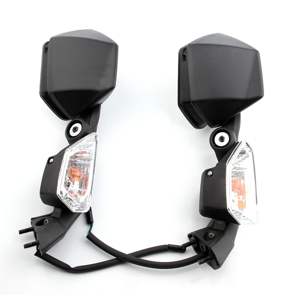 For Kawasaki Ninja 2005-2008 ZX6R 2004-2010 ZX10R ZX 6R 10R Pair Motorcycle LED Turn Signal Mirror Rearview Side Mirrors BLACKFor Kawasaki Ninja 2005-2008 ZX6R 2004-2010 ZX10R ZX 6R 10R Pair Motorcycle LED Turn Signal Mirror Rearview Side Mirrors BLACK
