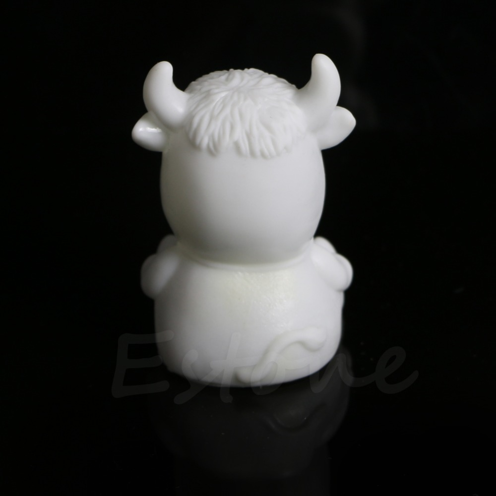 7 Color Changing Cow Shape LED Lamp Night Light Table Bedroom Kid ...