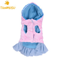Cute Pet Dog Dress Soft Puppy Dresses Clothes Dogs Clothing Cloth For Dogs Pets Maltese Yorkshire