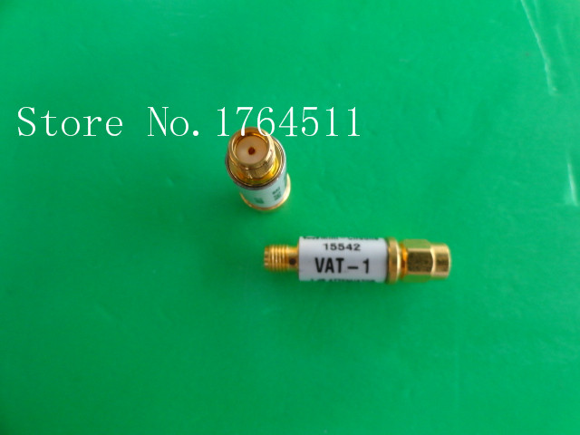 [BELLA] MINI VAT-1 DC-6GHz 1dB 1W SMA Coaxial Fixed Attenuator  --5PCS/LOT
