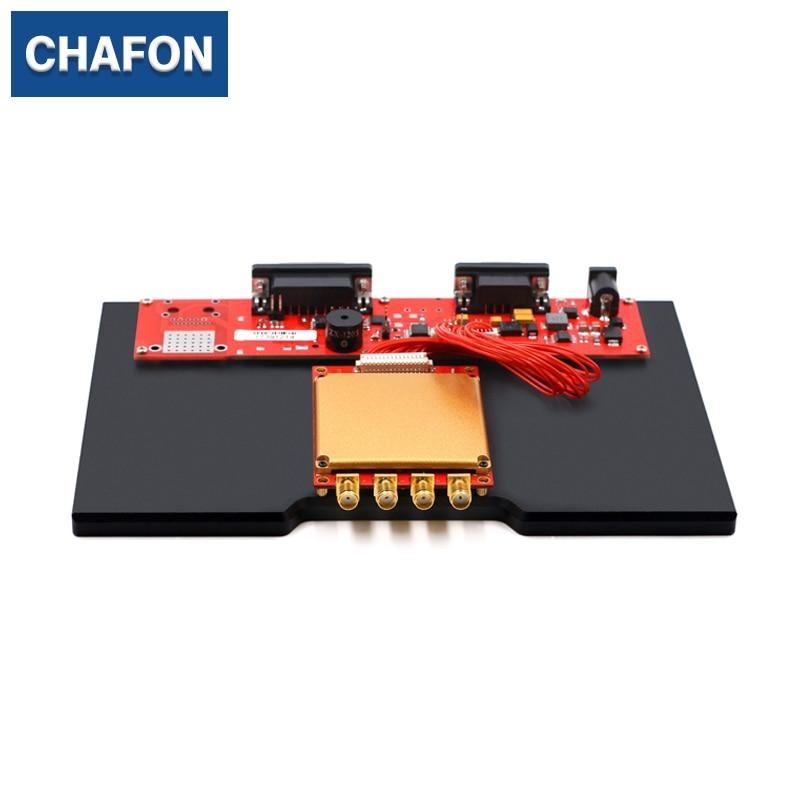 CHAFON 865 ~ 928 MHz 4 ports oem lecteur longue portée RF transceive Impinj R2000 rfid module utilisé pour la gestion de la logistique