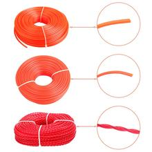 Professional Fine Quality Mowing Nylon Trimmer Rope Brush Cutter Strimmer Line Wire Lawn Mower Accessory