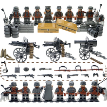 WW2 MinI Brick Compatible Legoinglys Military Army SWAT Building Blocks With Many Weapons And Soilder Set