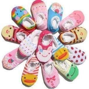 Infants CUTE 3D cartoon animal Sock Baby short socks Prevent slippery Modelling Toddler antislip Sox/antiskid sock Newborn shoes