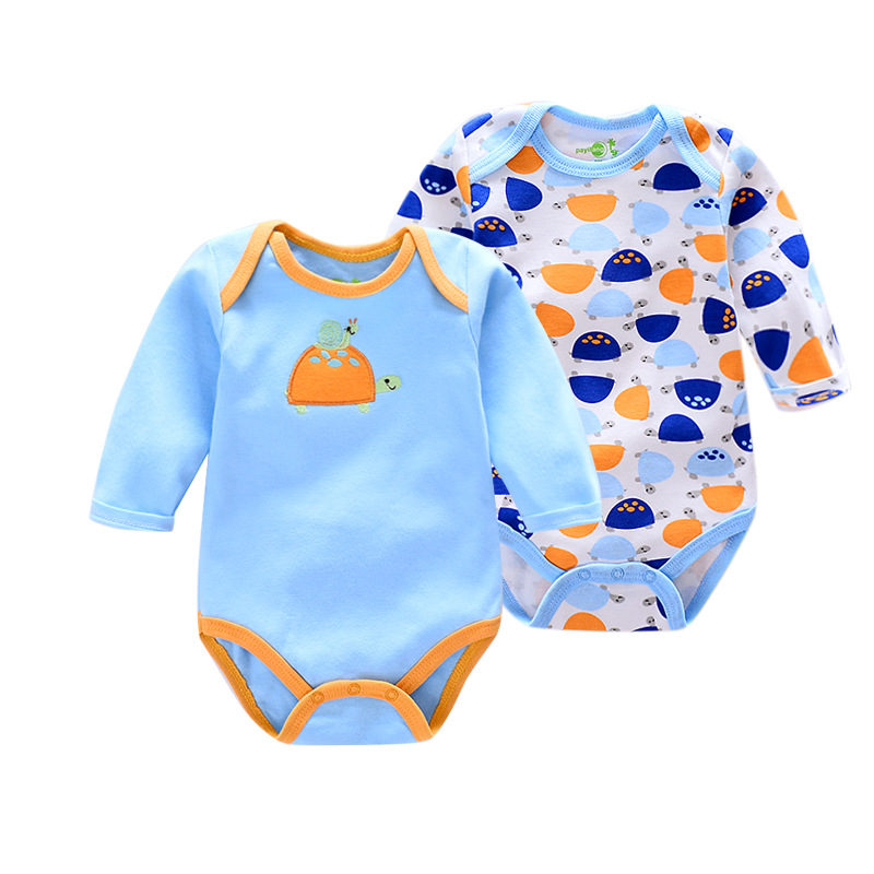 KAVKAS Spring Baby Girl Romper Cotton Baby Boy Clothes 2pcs Newborn Baby ClothesBaby Girl Clothes Roupas Bebe Infant Jumpsuits