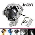 2 x Transformers 125W Motorcycle LED Headlight 3000LM U5 Motorbike LED Driving Fog Spot Head Light Lamp